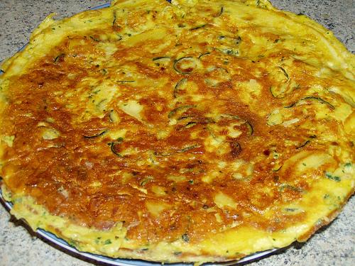 Frittata con zucchine e patate