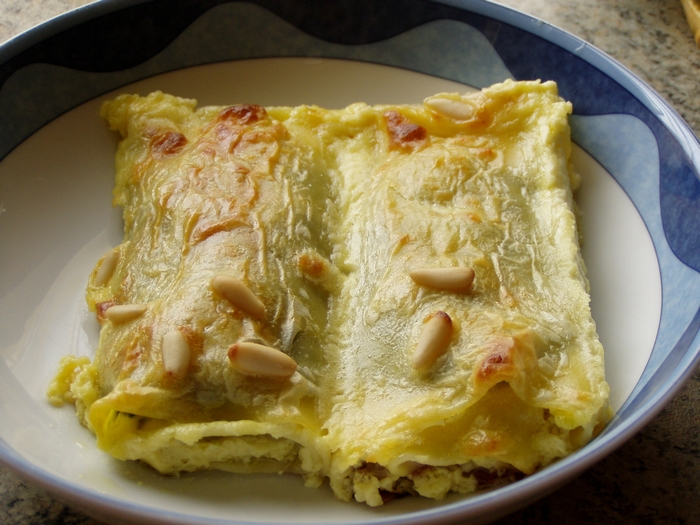 Link to Crespelle ricotta e spinaci