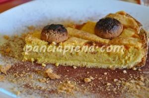crostata amaretti e ricotta
