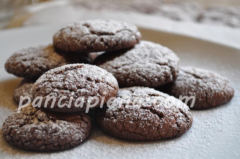 Biscotti al cioccolato di cotto e mangiato
