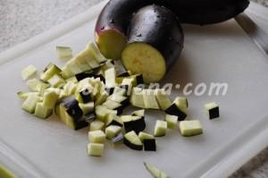 Pasta melanzane e pomodorini