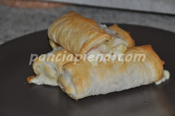 Napolitanas prosciutto e formaggio