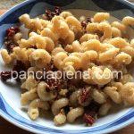 Celentani integrali con noci e pomodori secchi